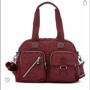 Kipling Defea Medium Handbag Rosewood Travel